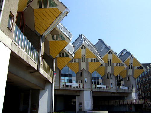fantastic buildings in Rotterdam