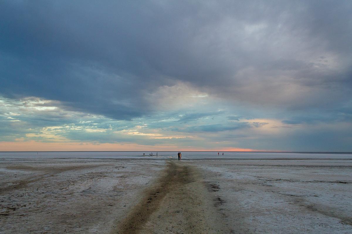 Закат на Эльтоне фото 7