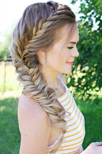 30+Most Stunning French Braid Hairstyles To Make You Amazed! 10