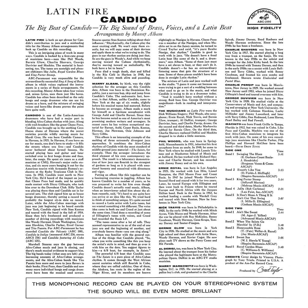 Candido - Latin Fire