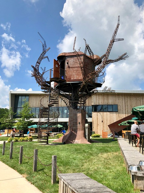 Steampunk Treehouse at Dogfish Head Brewery