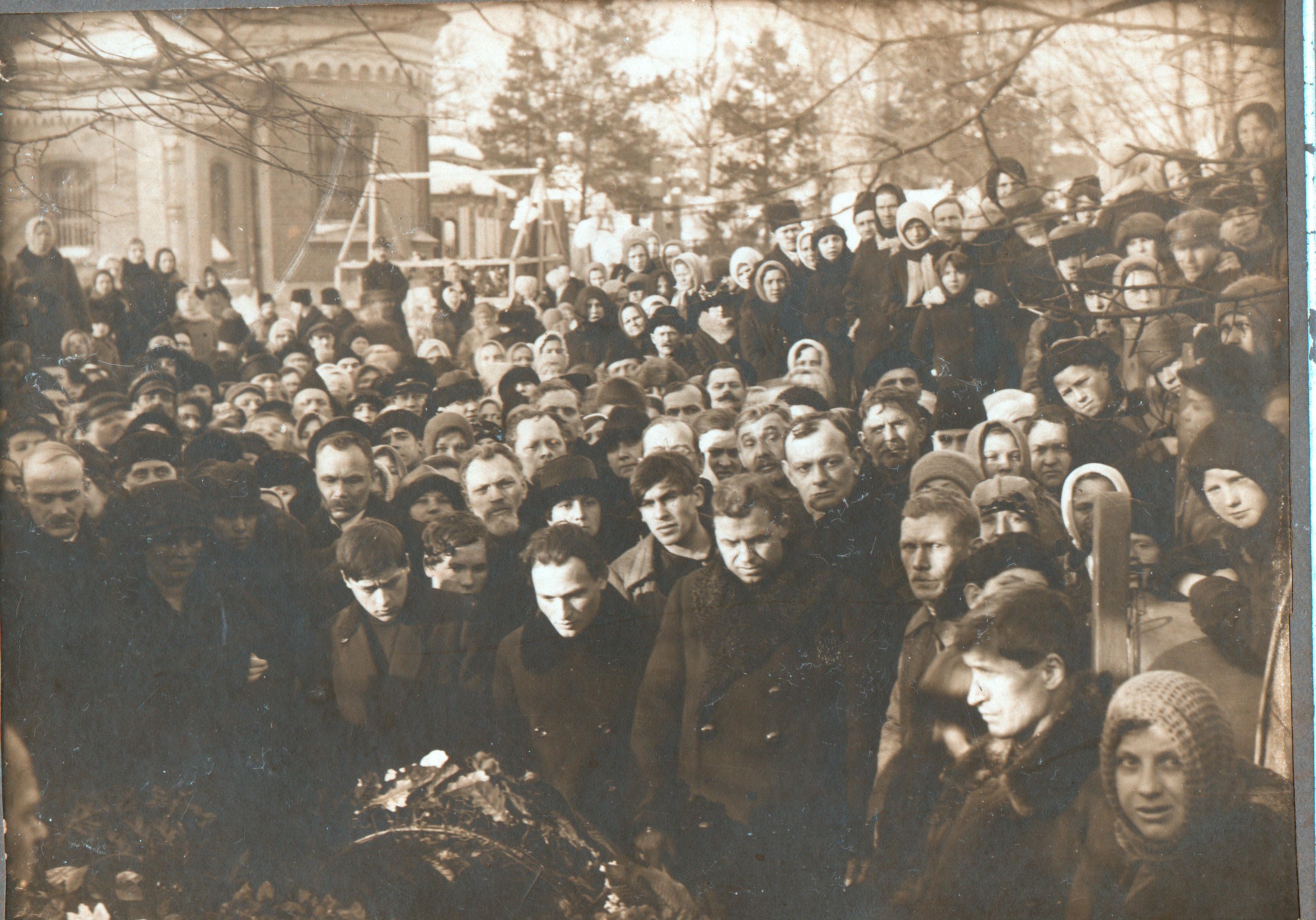 1923. Похороны на Новодевичьем кладбище