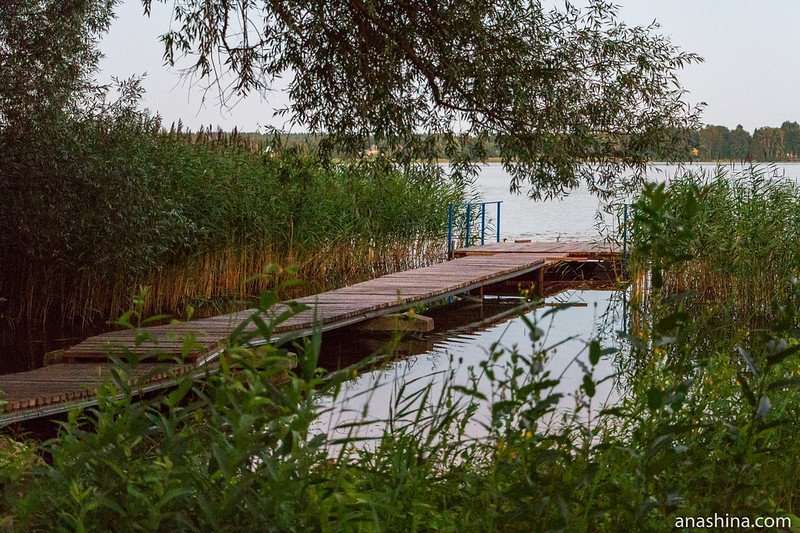 Мостки, озеро Мстино