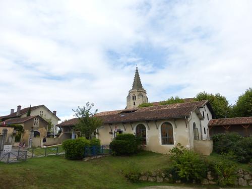 L'église St Saturnin de Brassempouy, Landes
