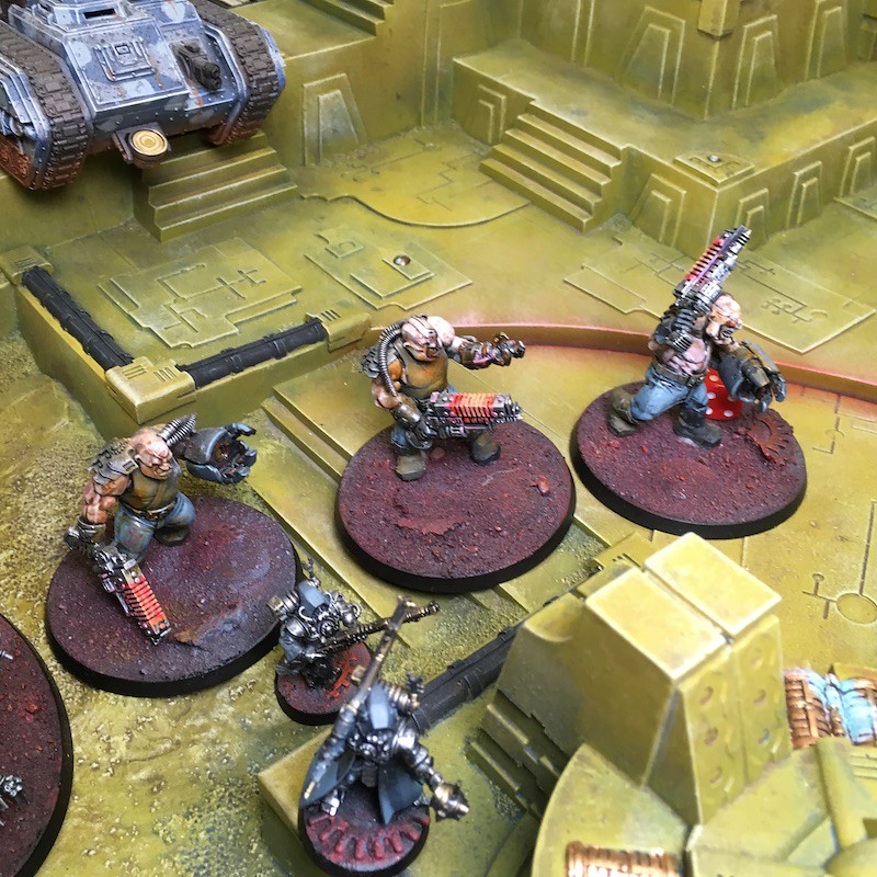 Medal of Colors Indomitus Crusade Battles-36
