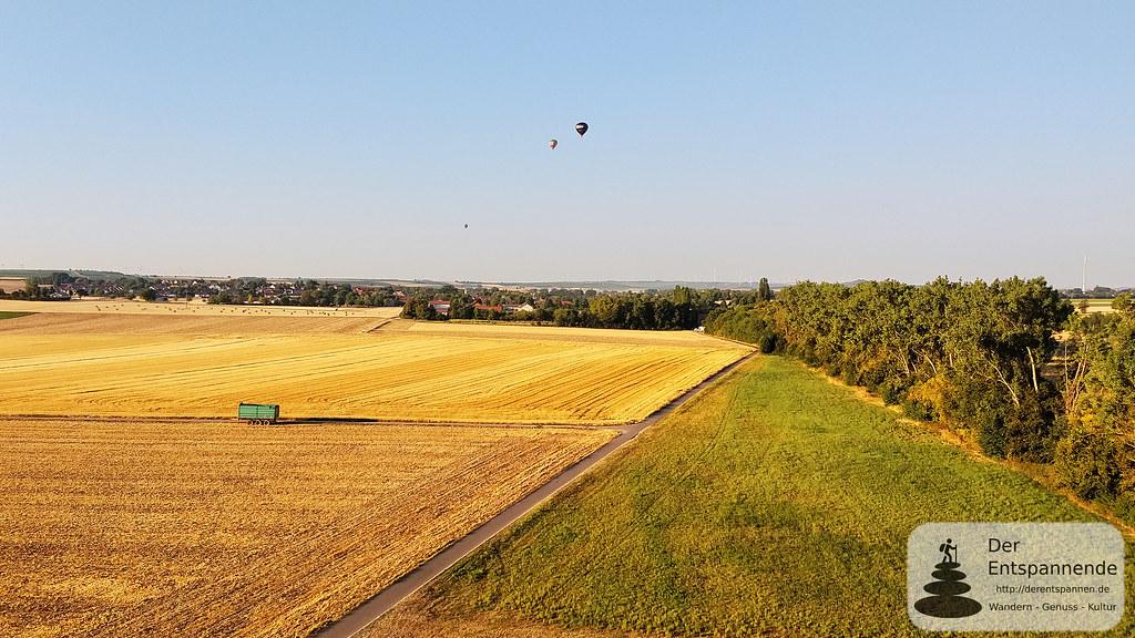 Ballone über Köngernheim