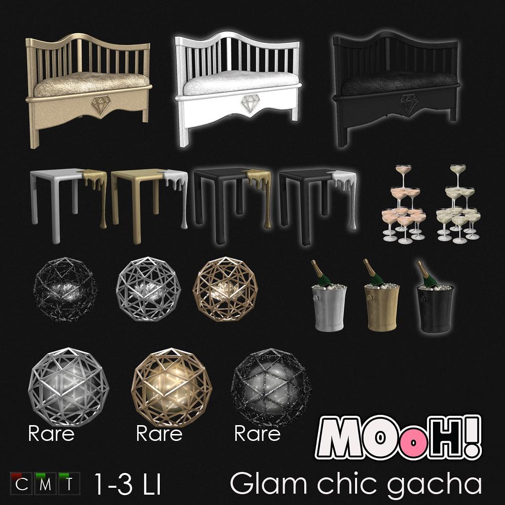 MOoH! Glam chic gacha