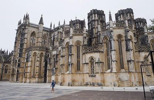 Monasterio de Batalha. Una joya arquitectónica de #Portugal. #batalha #mosteirodebatalha #mosteiro #olympus #igersportugal #loveportugal
