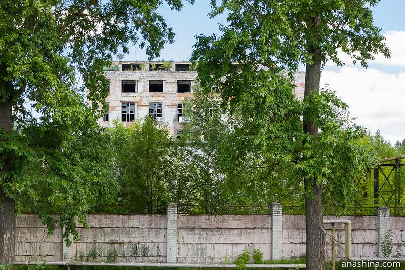 Заброшенный фабричный корпус, Тверь