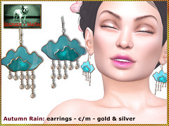 Bliensen - Autumn Rain - earrings