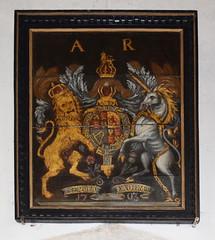 Queen Anne royal arms 1703