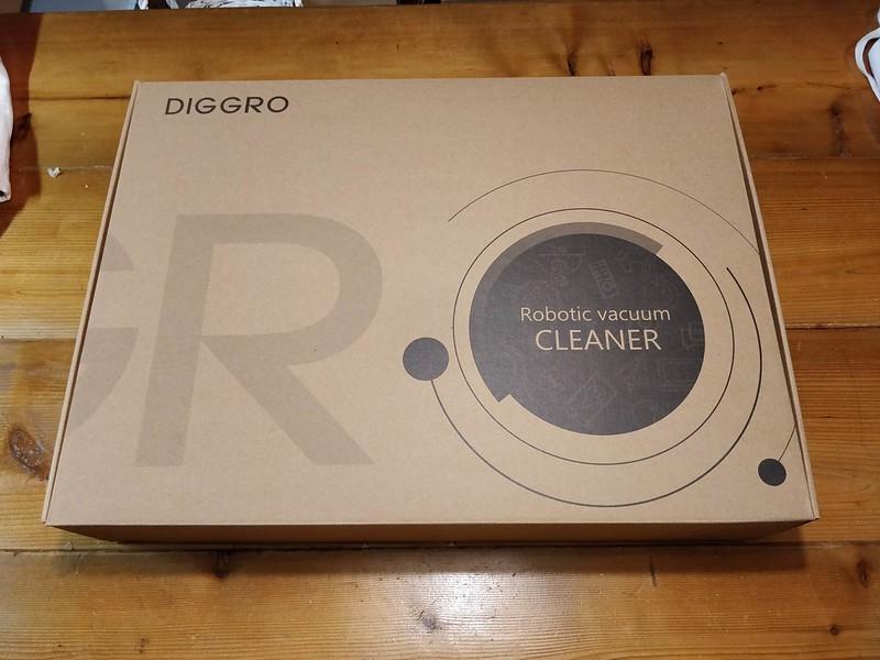 Diggro D300 ロボット掃除機 開封レビュー (3)