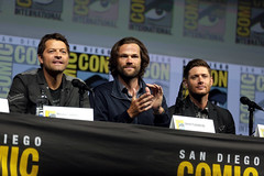 Misha Collins, Jared Padalecki & Jensen Ackles