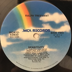 RALPH TRESVANT:SENSITIVITY(LABEL SIDE-B)