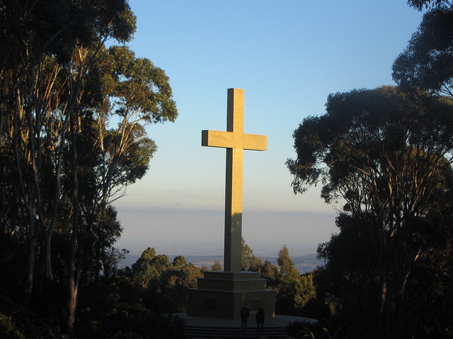 The Cross, Mount Macedon, Canon POWERSHOT SX220 HS