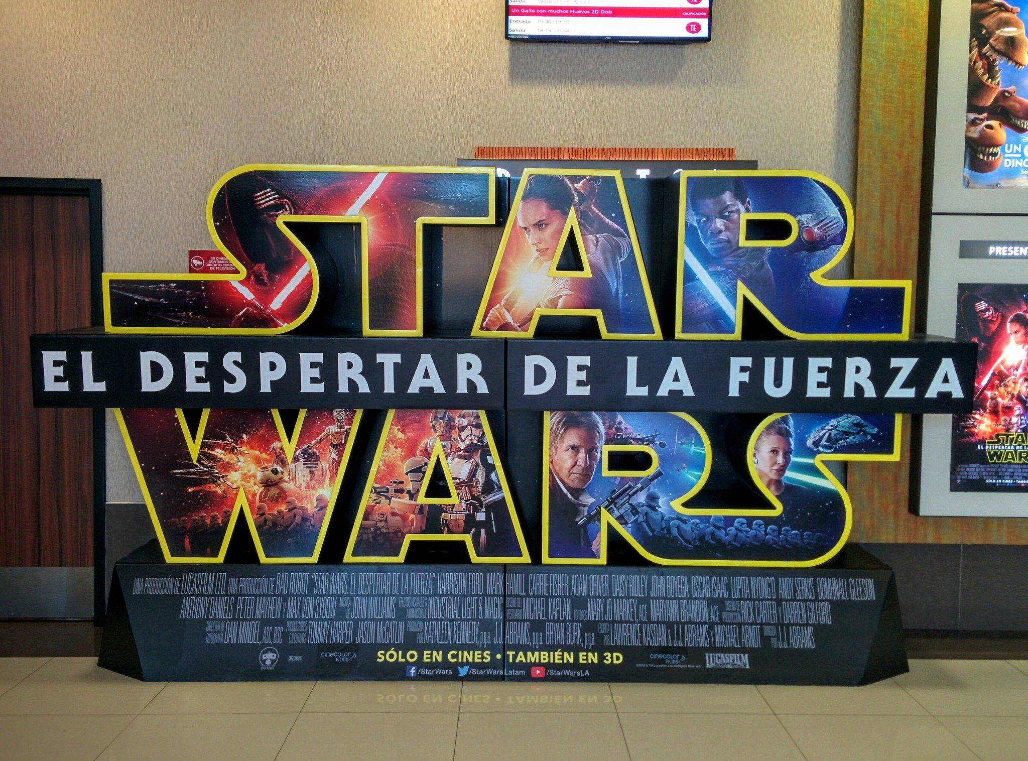 Star Wars sign in Bariloche