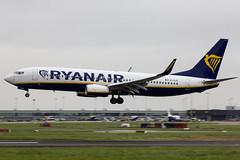 EI-GJS | Ryanair | Boeing B737-8AS(WL) | CN 44836 | Built 2018 | DUB/E
