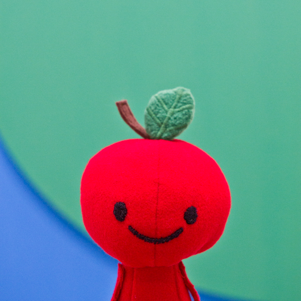 Apple Head's trip at: The Broad