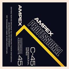 Cassettes: Ampex Professional C45