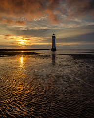 Perch Rock Sunset