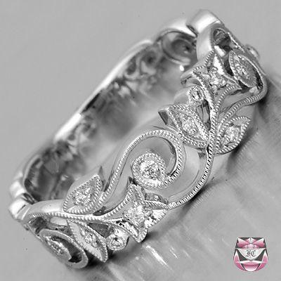 Bague De Fiançailles 2018/2019 – Bague de mariage en diamant de style Art Nouveau