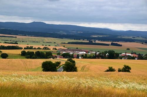 Eichsfeld landscape near Epschenrode