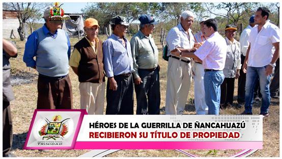 heroes-de-la-guerrilla-de-nancahuazu-recibieron-su-titulo-de-propiedad