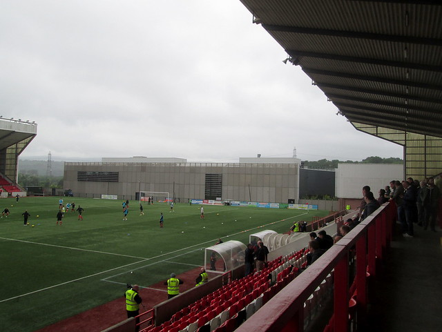 North End, Broadwood Stadium
