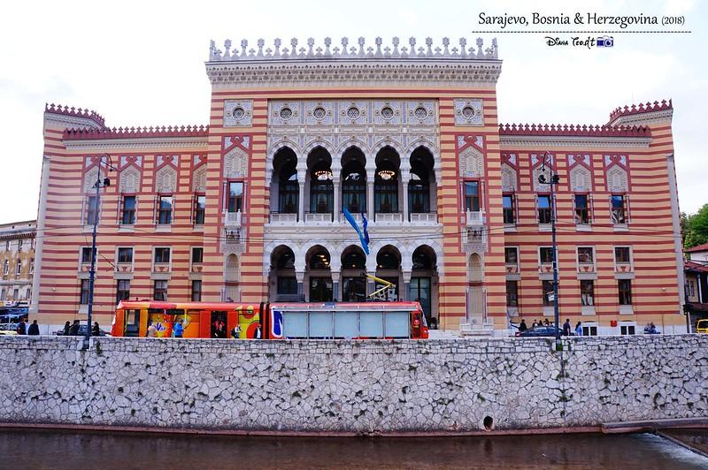 2018 Bosnia Sarajevo Vijecnica (City Hall)