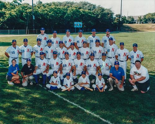 1998 Chatham A's team photo