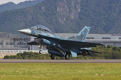 83-8133 Mitsubishi F-2B Japan Air Self Defence Forces @ Gifu RJNG