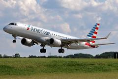 N950UW American Embraer ERJ-190AR at KCLE