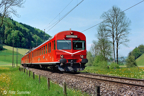 RBDe 4/4 I 223/323 bei Oberdiessbach, P8138021-1
