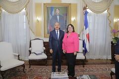 Visita en el despacho Presidencial
