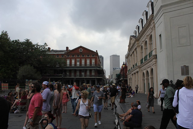 Jackson Square, New Orleans, Canon EOS REBEL T2I, Canon EF-S 18-55mm f/3.5-5.6 IS II
