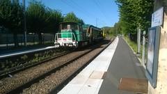Wagon aspirateur en gare de Précy-sur-Oise