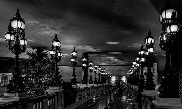 Interior shot Paris Las Vegas Hotel