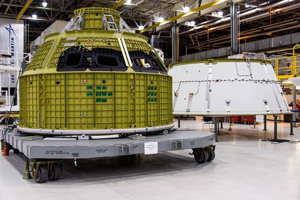 Crew Module Exploration Mission 2
