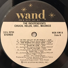 THE INDEPENDENTS:CHUCK, HELEN, ERIC, MAURICE(LABEL SIDE-B)