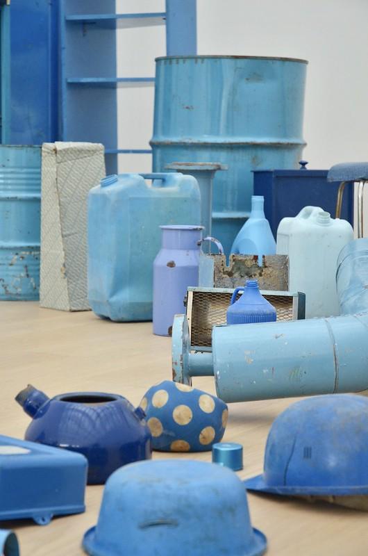 museum voorlinden - blue horn - tony cragg