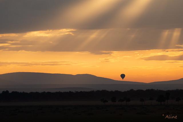 morning has broken in Masai Mara