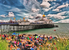 People and the Pier, Eastbourne