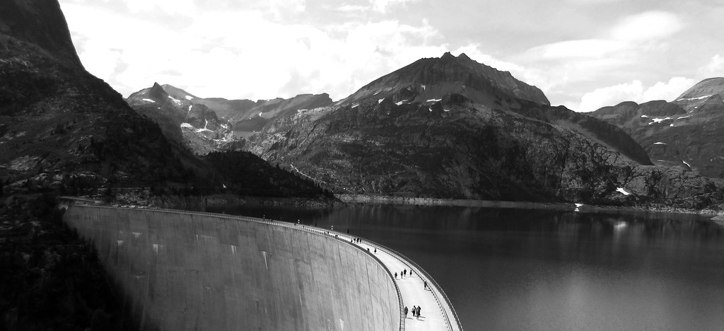 Barrage d'Emosson, Suisse 2018