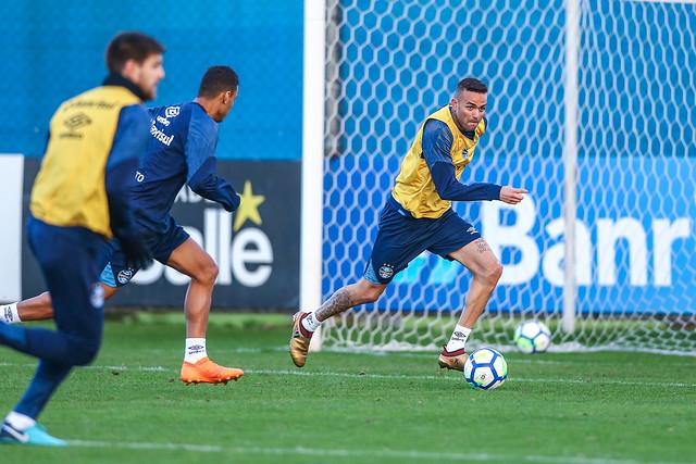 Treino Grêmio 31/07/18