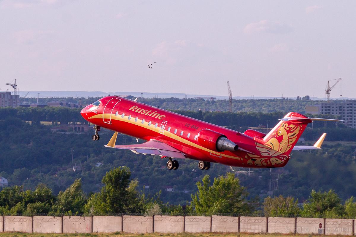 Rusline CRJ-100 VQ-BNA фото 7