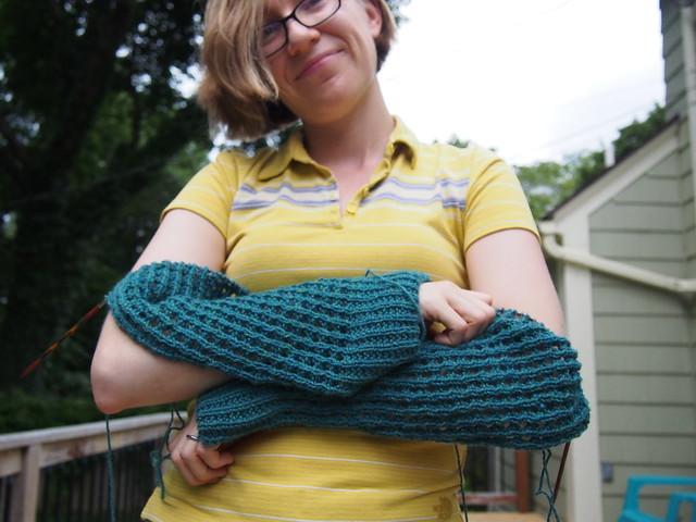 Still knitting Perfin.