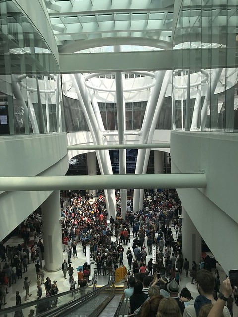 Salesforce Transit Center, Opening Day