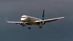 Arkia Boeing 757-300 4X-BAU Landing at Dublin Airport August 2018 (2)