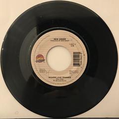 NEW ORDER:BIZARRE LOVE TRIANGLE(RECORD SIDE-A)