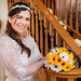 Bride and staircase
